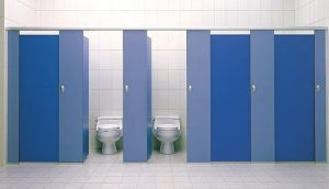 Дизайн сантехнических перегородок